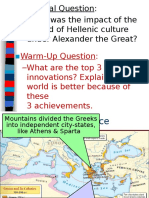 hellenism  alexander the great