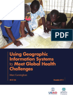 Using GIS in Global Health