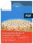 Mergers Acquisitions in China