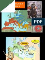 1. Invasiones Bárbaras - Imperio Bizantino