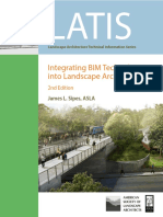 Integrating BIM Technology into Landscape Architecture