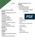 Programa de Educiación Inicial y Primaria