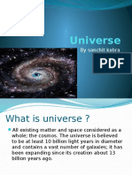 Universe by Sanchit Kabra