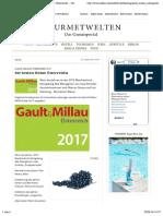 Gault Millau Weinguide 2017 Die Besten Weine Österreichs - Gourmetwelten - Das Genussportal