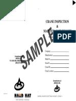 Overhead Crane Inspection Booklet