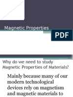 Magnetic Properties Part 1