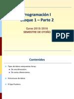 Bloque 1 - Parte 1 PROGRAMACION EN C++