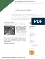 Test Engine Argentina_ Renault Clio 1