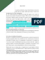 Balcarce, La noción de espectralidad en el pensamiento de Derrida