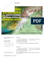 Planeamiento Estrategico Administracion Publica Latinoamerica