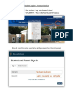 pearson realize student login  step-by-step