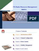 UMTS Radio Resource Management