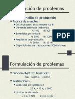 Formulacion Problemas