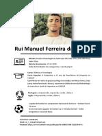 Rui Costa - Curriculo