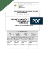 Informe Eléctrico Ventilador v-019