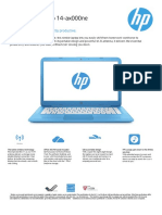 HP Elitebook 8440p Datasheet | Laptop | Windows Vista