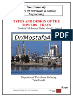 Tower Tray oil and gas industry