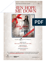 When Hope Came Down Preview