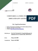 Comentarios a la norma tecnica de edificacion E.070  Albañileria  - Angel San Bartolome.pdf