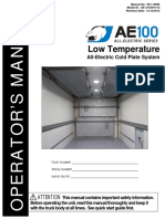 AE100 Low Temp Operator's Manual