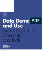 Data Demand and Use