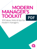 Modern Manager's Toolkit