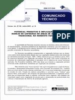 Potencial Produtivo e Implicacoes Para o Manejo de Capoeira Em Áreas de Agricultura Tradicional No Nep - Socorro Ferreira - 2001