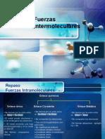 fuerzas intermoleculares y Enlaces