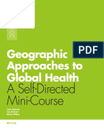 Geographic Approaches to Global Health