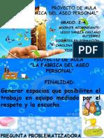 DIAPOSITIVAS PROYECTO DE AULA 2016 GRADO.pptx