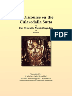 714. Discourse on the Culavedalla_Sutta - Mahasi Sayadaw-1964