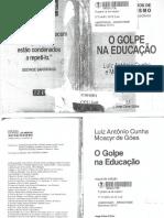 LIVRO_O Golpe Na Educaçao_ANTONIO CUNHA