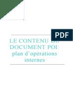 Securite-industrielle-Plan-d-Operation-Interne ++++++++++++++++++++