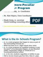 a  presentation for freshmen 2016-17