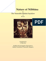 715. On The Nature of Nibbana - Mahasi Sayadaw-1964