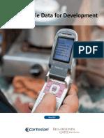 Using Mobile Data for Development