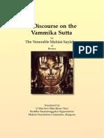 637. Discourse on the Vammika_Sutta - Mahasi Sayadaw-1965