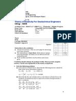 Final Exam CEng 6209 TE Final Exam [2006]