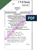 IFS Physics 2009