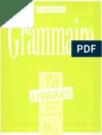 Grammaire 350 Exercices niveau superieur II corrigés.pdf