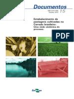 Estabelecimento de Pastagens Cultivadas No Cerrado Brasileiro Uma Visão Sistêmica Do Processo