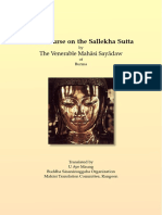 641. Discourse on the Sallekha_Sutta - Mahasi Sayadaw-1969
