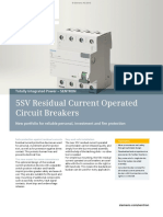 SIEMENS-Catalogo 5SV-Residual Circuit Breakers