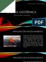 Energía Geotérmica Presentación