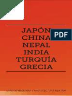 Japón, China, Nepal, India, Turquía, Grecia - ARQUILIBROS - AL