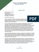 Johnson-Pocan Kratom DOJ Letter
