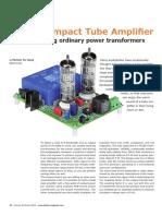 Amplificador de Bulbos de Bajo Costo
