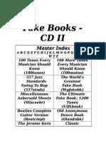 The Fakebook CD II