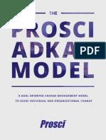 The Prosci ADKAR Model eBook