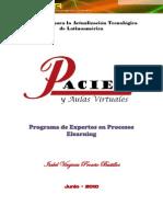 PACIE y Aulas Virtuales, Isabel Proaño